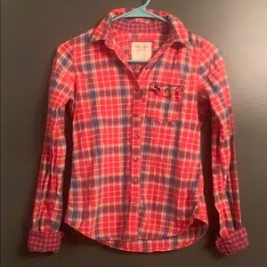 Abercrombie and Fitch Button Down Shirt Size XS
